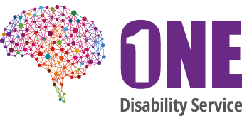 ONE Disability Service logo